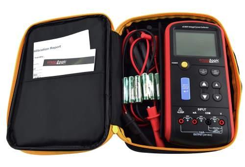 eC380V Volt mA calibrator in carrying case