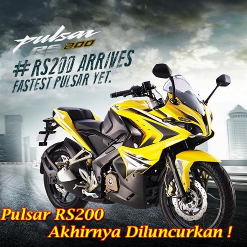 Bajaj Pulsar RS200 Main