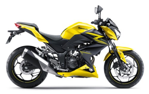 Kawasaki Z250 2015 Kuning