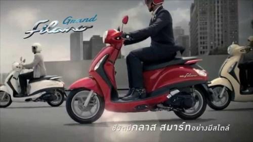 Yamaha Grand Filano 125 Ads