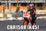 CBR150R Korban CB150R Facelift