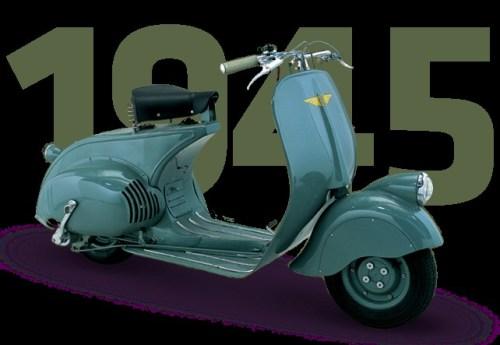 Sejarah Vespa - Piaggio MP6