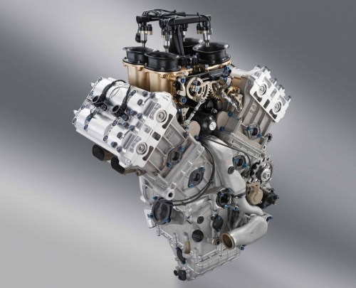 KTM GP1 V4 Engine