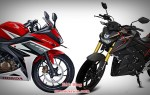 All New CBR150R K45G Facelift vs Yamaha Xabre