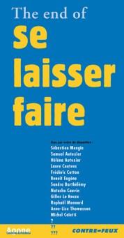 John Maynard Keynes, The End of laissez-faire, Agone, 2009