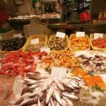 近所のスーパーの鮮魚コーナーの様子です。ご確認下さい。