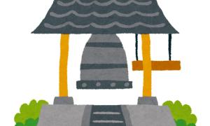 お寺である実家の鐘が大変なことになっていたwww