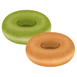 ドーナツは身近にある「アレ」を使うと食べやすいよ!
