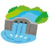 貯水率が過去最低の58%となったダムの異様な光景。