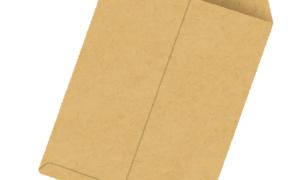 封筒にのり付けしたつもりが、コリをほぐしていた。