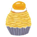 【事故】ケーキ屋で注文した「カシスモンブラン」が前衛的すぎるww