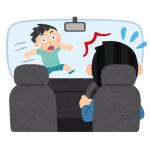 反対車線の車 に「死角から出てくる歩行者」の存在を気づかせるドライバーの機転!