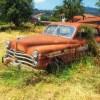 もはや自然のアート…奥多摩の山奥で放置された「廃トラック」がエモさ全開だと話題に