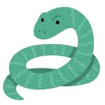 このヘビ、ファンタジーの世界から転生してきたんじゃないかと思うくらい中2感に溢れてる…🐍