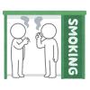 """「なんだこの連帯感w」ある大学で廃止された""""喫煙所""""の跡地に行ってみたら…😂"""