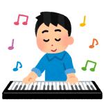 【驚愕】0歳児におもちゃのキーボードを与えたらムーディーな曲を奏で始めたwww