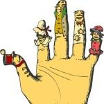 【衝撃】昔発売された『ジャムおじさんの指人形』の塗装が剥げて大変なことにww