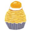 """「なんという禍々しさ…」紫芋のモンブランケーキで再現されたあの""""ジブリキャラ""""にツイ民驚愕😱"""
