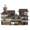 """インパクト抜群! 愛媛で修繕工事中の有名温泉旅館に掛けられた""""防音シート""""のデザインが話題に"""