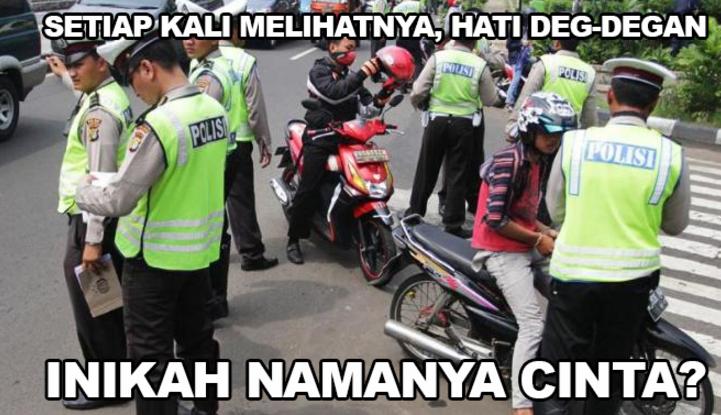 Kena Razia Polisi