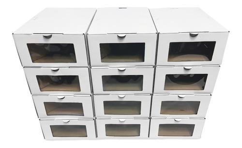 Caja Organizadora Zapatilla Hombre - 36 Un (h/ 46) Eco Envío