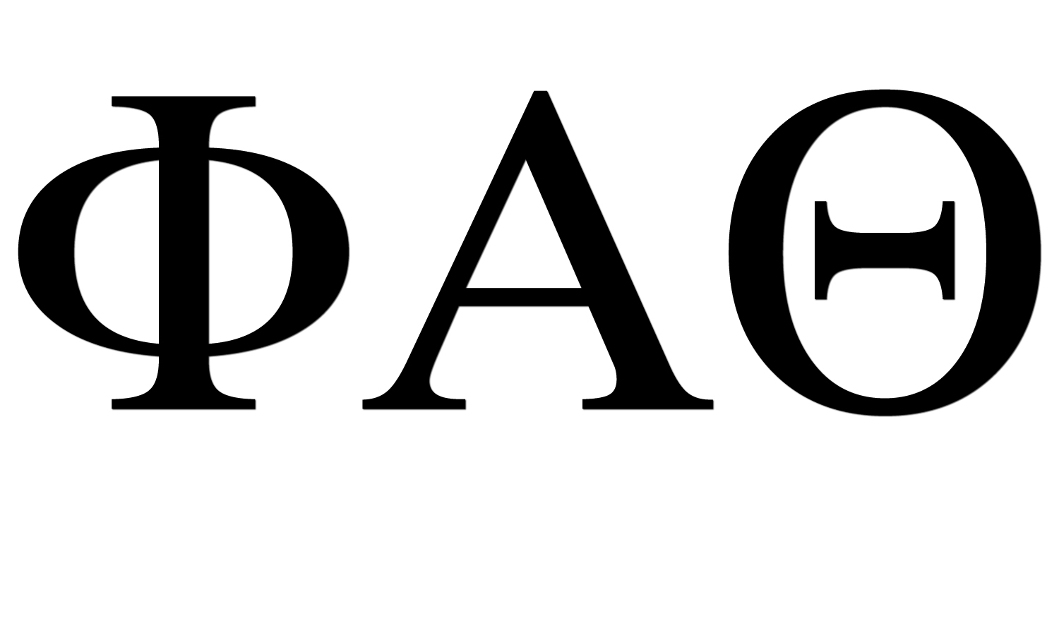 Alpha Kappa Alpha Greek Letters