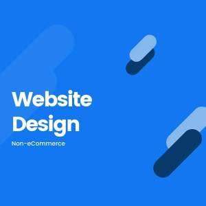 Website Design - non-Ecommerce Product Image