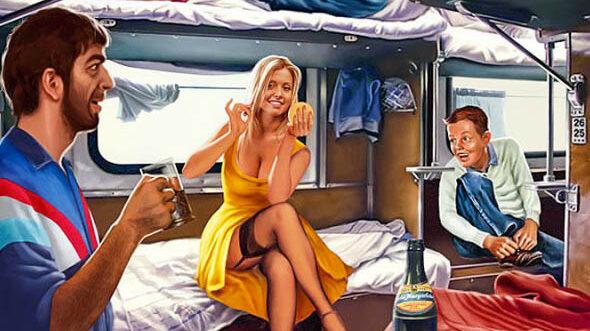 Чей отсек для ручной клади под нижней полкой в поезде, можно ли и имеем ли мы право спуститься на нижнюю полку на время обеда, если сосед снизу категорически против. Ответ в письме от РЖД. Валерий Барыкин