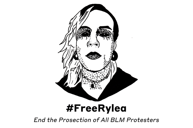 Art of Rylea.  End the Prosecution of All BLM Protesters.