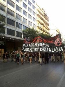 Soli_demo für Kostas Sakkas am 28. Juni in Thessaloniki