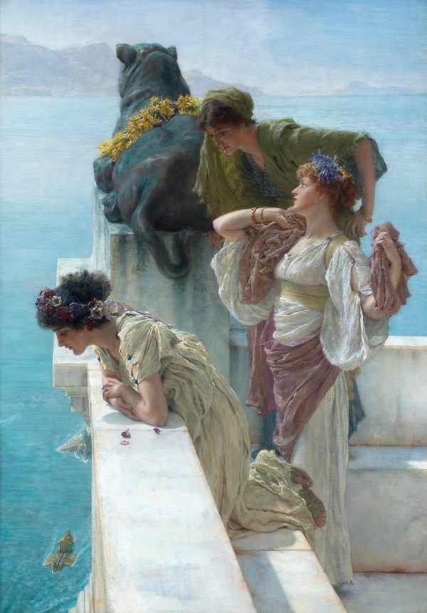 Lawrence Alma-tadema Home In Antiquity Of Tomfoolery