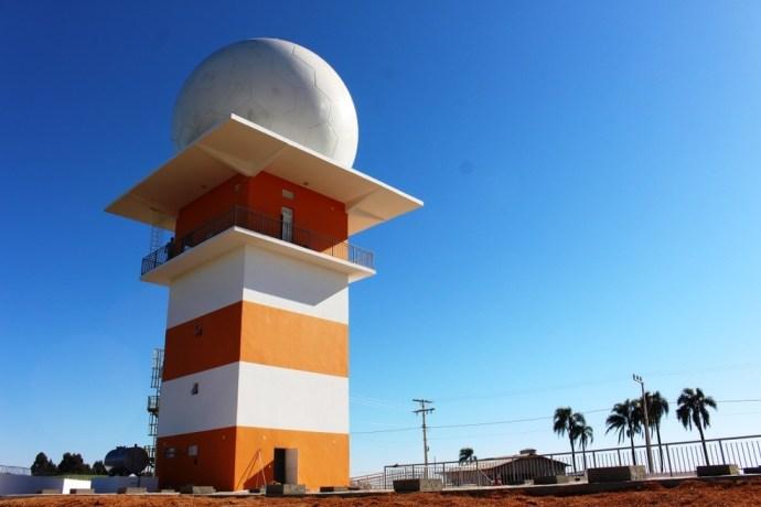 Investimento no radar foi de mais de R$ 14 milhões (Foto: Cleiton Ferrasso/ Ascom Defesa Civil SC )