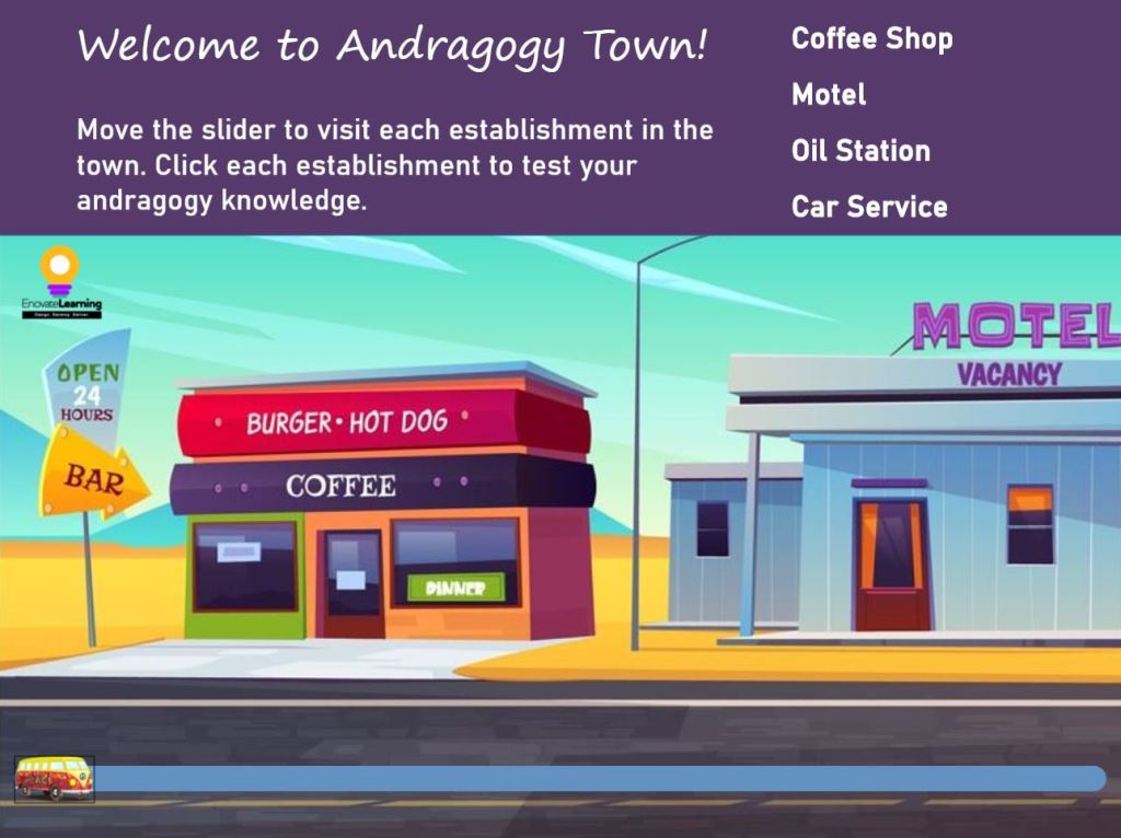 Colorful Coffee Shop Image