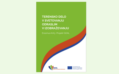 Publication of a new manual Outreach in Guidance for Adult Learners (Terensko delo v svetovanju odraslim v izobraževanju)