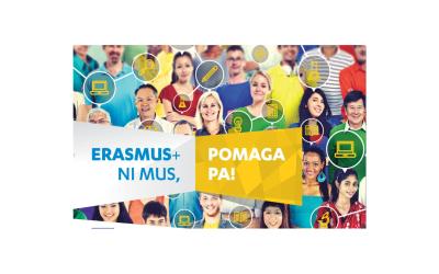 Si želite mednarodnih izkušenj? Objavljen je razpis Erasmus+ 2020