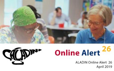 Izšla je aprilska številka Aladin Online Alert
