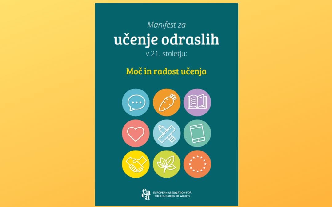 Manifest za učenje odraslih