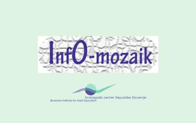 Nov prispevek v rubriki InfO-mozaik
