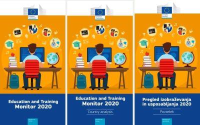 Pregled izobraževanja in usposabljanja 2020