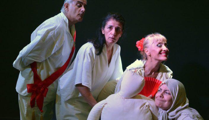 Ο Σιμιγδαλένιος - Στο θέατρο ΕΝ-Α