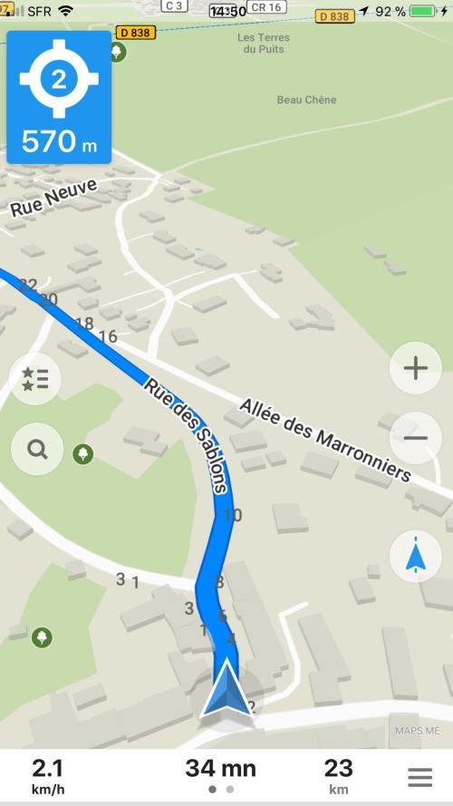 itineraire voyage map destination