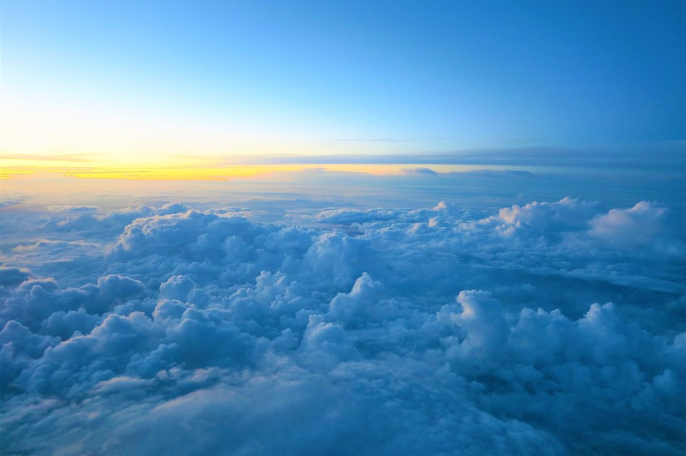 papier identité ciel avion voyage