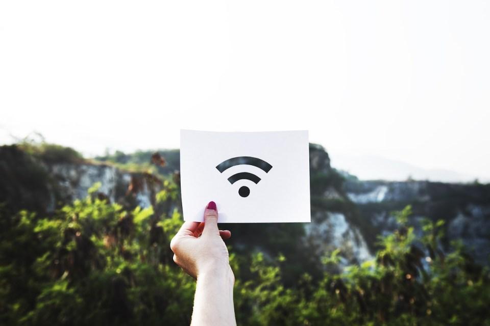 internet wifi voyage organisation