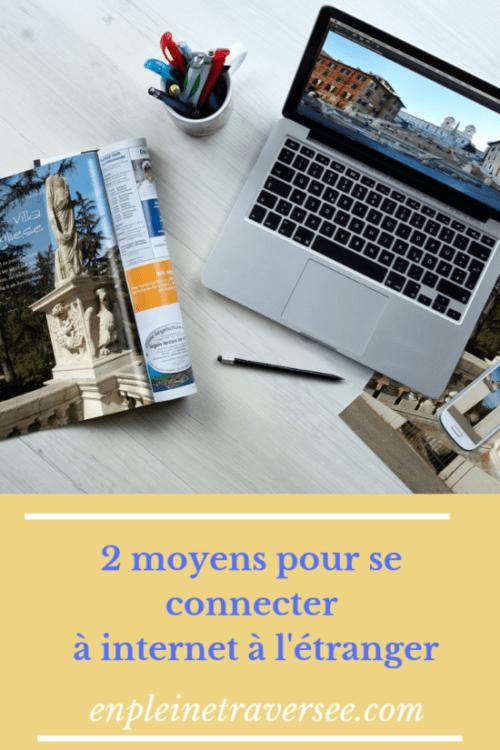 wifi boitier wifi internet étranger voyage tourisme vacances conseils coaching accompagnements