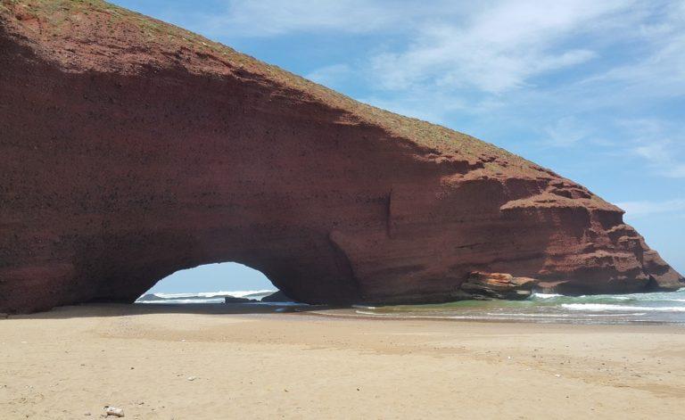 plages sauvages voyage tourisme coaching Maroc legzira