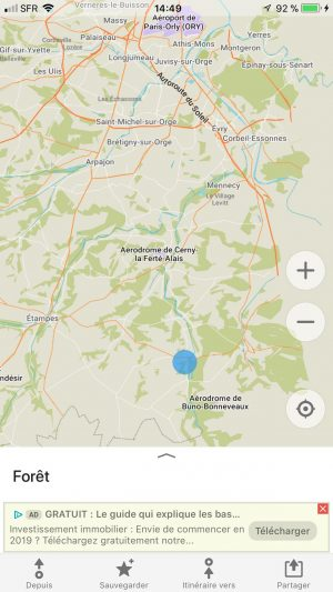 creer point application carte voyage map voyage tourisme vacances coaching organisation conseils accompagnement peurs