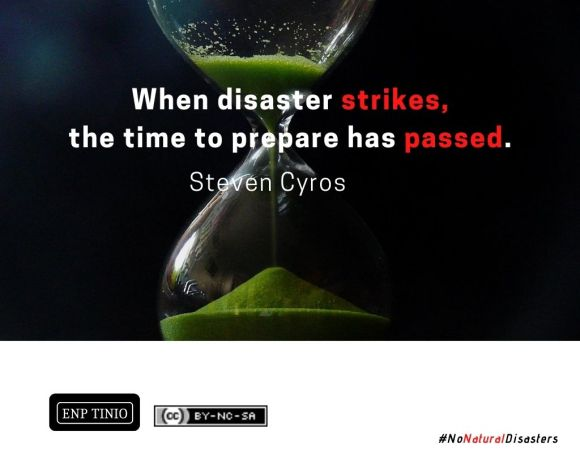 disaster quote