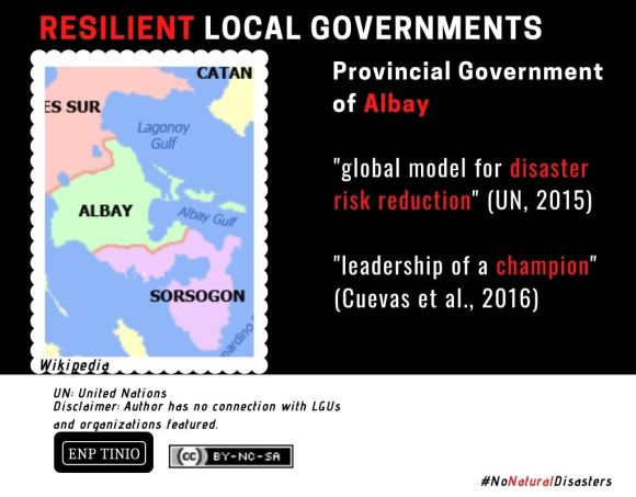 Resilient LGU: The Province of Albay