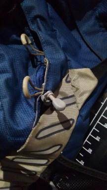 Fivelinha que regula o comprimento do Clipe de prender capacete