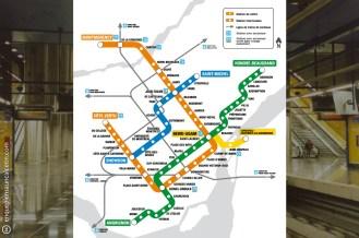 plano metro montreal